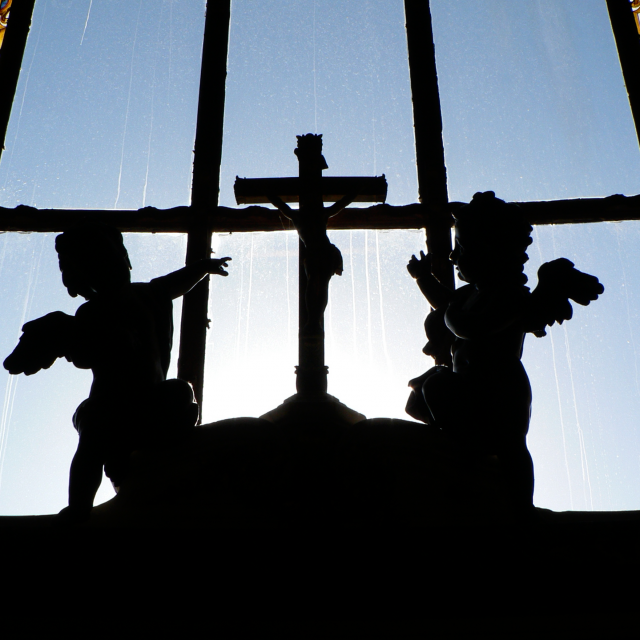 Croix dans la chapelle royale de Versailles