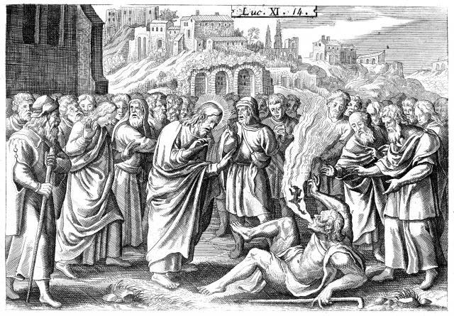 Luc 14 - Exorcisme du démon muet - 02