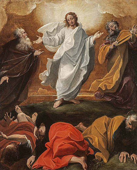 Ludovico Carracci - la Transfiguration