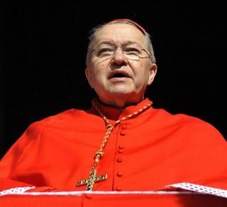 Son Eminence André, cardinal Vingt-Trois, archevêque de Paris