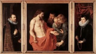 L'apparition du Christ ressuscité à saint Thomas par Rubens