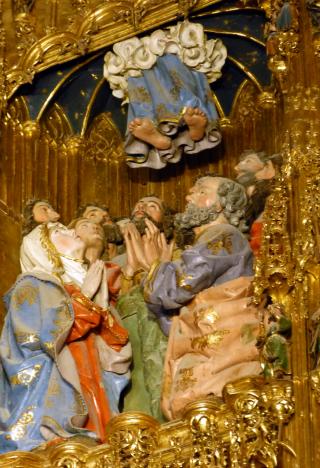 L'Ascension - retable de la cathédrale-primatiale de Tolède