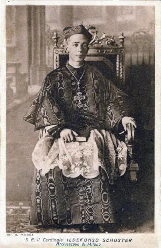 S.E. Ildefonse, cardinal Schuster, archevêque de Milan