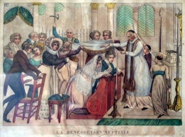 Mariage sous le poêle au XIXème siècle-02