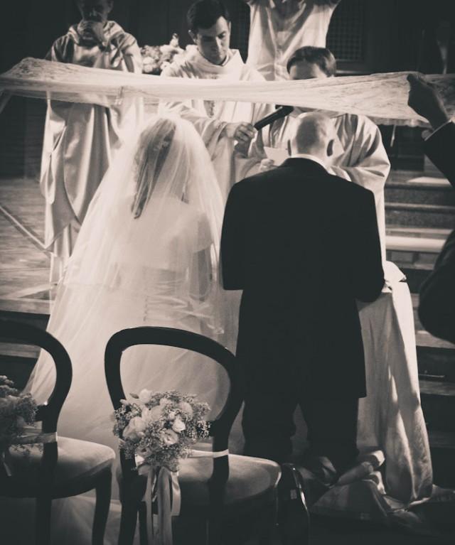 Vélation nuptiale en Italie