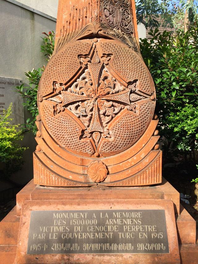 08 - Monument à la mémoire des 1 500 000 arméniens victimes du génocide perpétré par le gouvernement turc en 1915