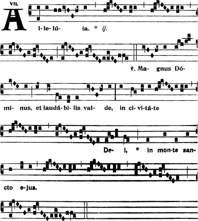 Alleluia - Magnus Dominus - ton 7