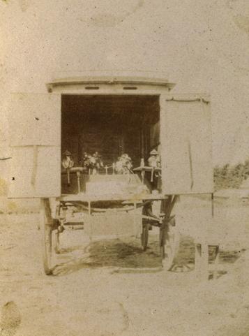 Autel de campagne en 1917