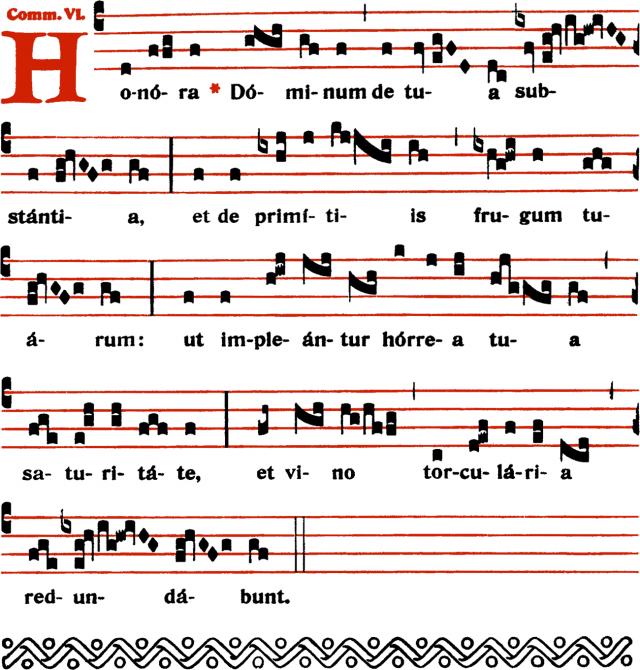 Communion - Honora Dominum - ton 6
