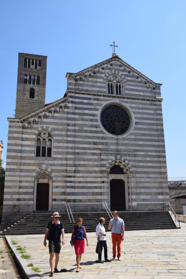 01 - L'église Santo Stefano de Gênes, la plus vieille de la ville