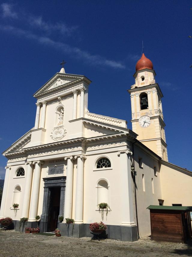 01 - Sanctuaire marial de Nostra Signora della Rovere - San Bartolomeo al Mare - Ligurie