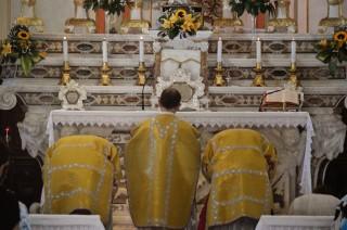 11 - Messe des 7 joies de la Vierge - le second confiteor des prière au bas de l'autel