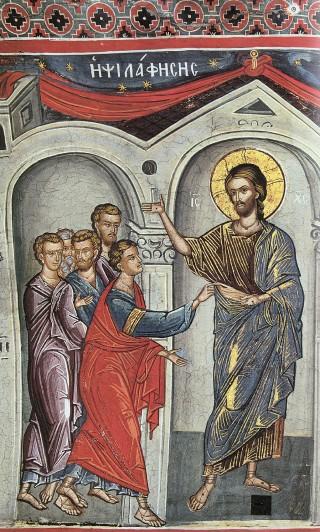 La foi de Thomas - reconnaissance du Christ ressuscité par saint Thomas