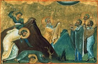 Martyre des saints Apôtres  Eraste, Olympas, Rhodion, Sosipatros, Quartus & Tertius - des 70 Disciples du Christ