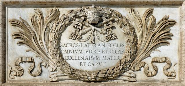 Sacrosancta Lateranensis Ecclesia Omnium Vrbis et Orbis Ecclesiarum Mater et Caput
