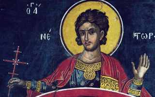Saint Nestor de Thessalonique, martyr