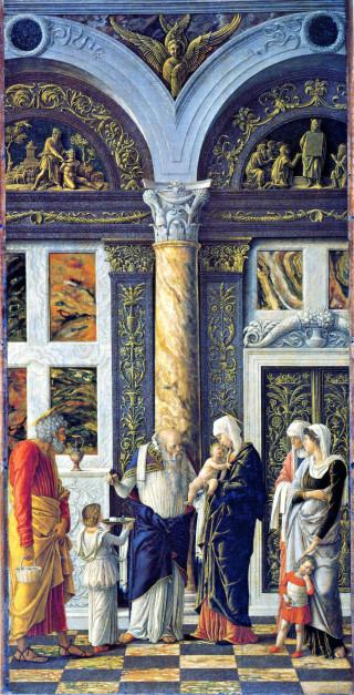 Andrea Mantegna, la Circoncision de Notre Seigneur, 1464