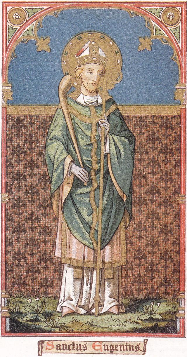 Saint Eugène, disciple de saint Denis, martyrisé à Paris, premier évêque de Tolède