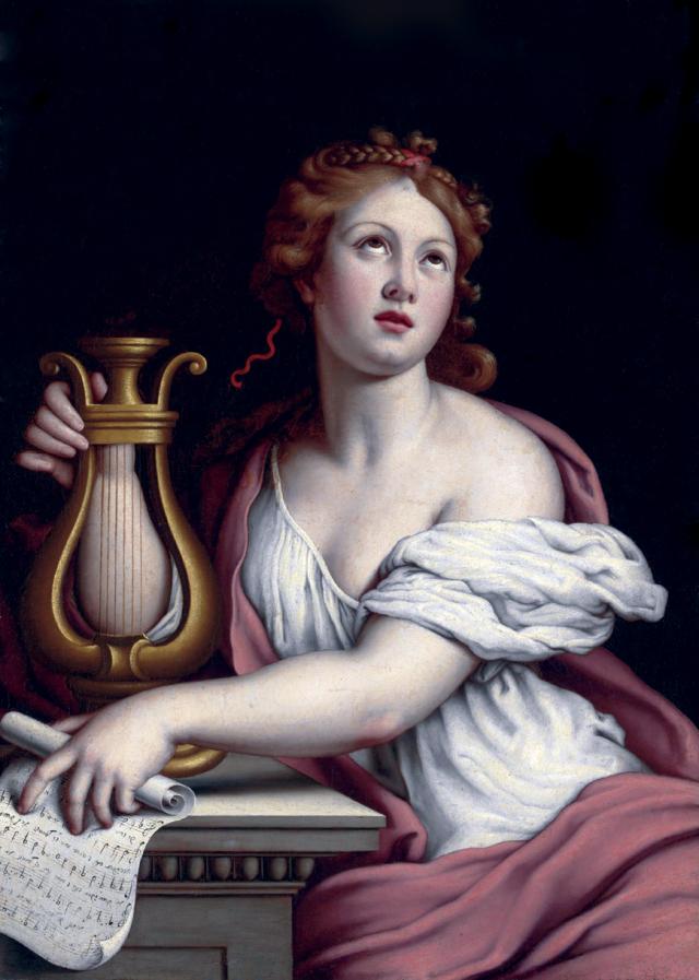 Sainte Cécile par Giovanni Battista Salvi, detto Sassoferrato (1609 - 1685)