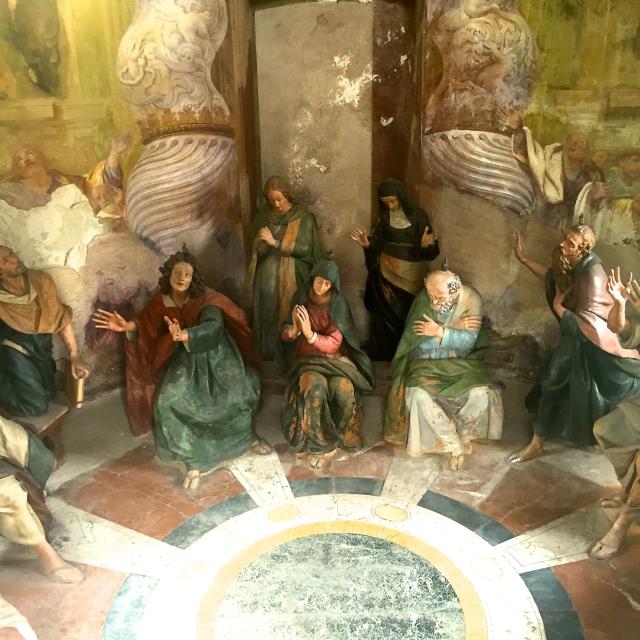 La Pentecôte - Sacro Monte de Varese - Italie
