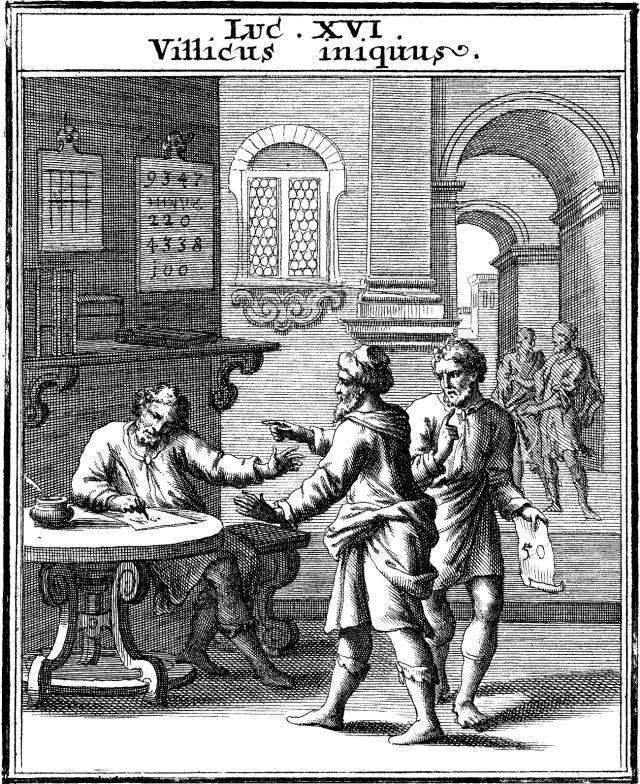 Luc 16 - Parabole du serviteur malhonnête