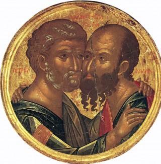 Saints, glorieux & illustres apôtres Pierre & Paul, les #Protocoryphées