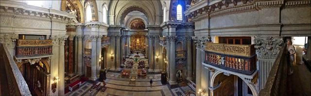 Santa Maria in Portico in Campitelli en vue panoramique