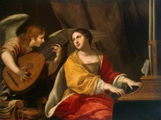 Sainte Cécile par Jacques Blanchard