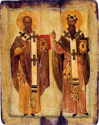 Saint Athanase & saint Cyrille papes d'Alexandrie