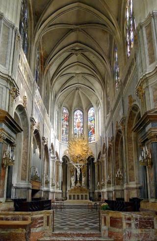 Le chœur de l'église Saint-Merri.