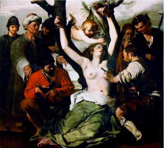 Le martyre de sainte Agathe de Catane