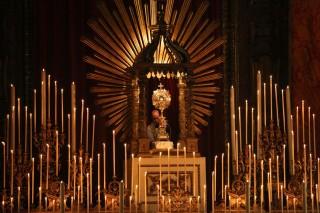 Les Quarante-Heures à l'Oratoire de Londres.