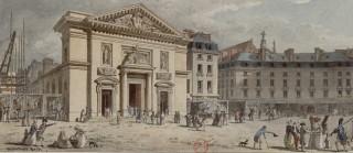 Saint-Barthélémy avec sa nouvelle façade construite sous Louis XVI.