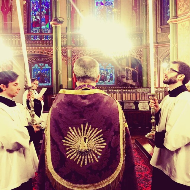 Secondes vêpres du premier dimanche de Carême