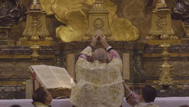 Elévation du Corps du Seigneur - Messe à Santa Maria in Campitelli.