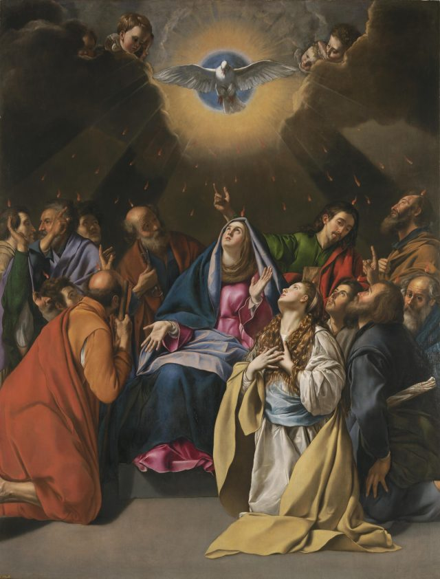 La Pentecôte par Juan Bautista Maino (1581 † 1649)