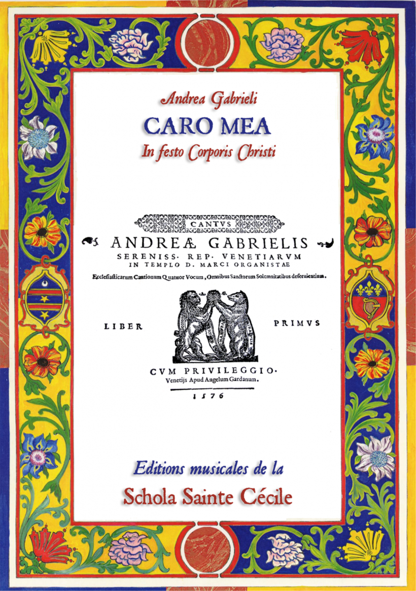 Andrea Gabrieli - Caro mea vere est cibus
