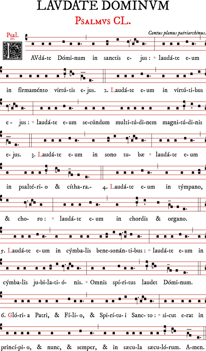 Psaume150-chant patriarchin