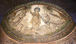 Mosaïques de l'abside de l'église Sainte-Constante à Rome