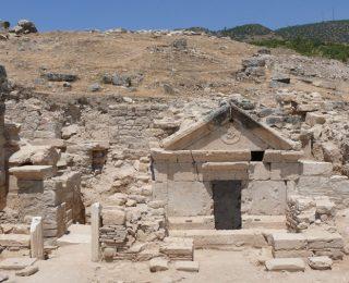 Tombe de saint Philippe à Hiérapolis