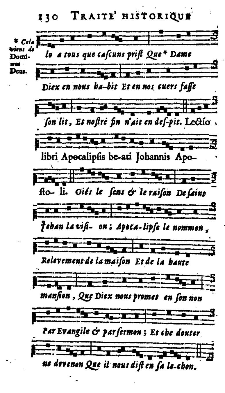 Epître farcie de la fête des Saints Innocents - plain-chant d'Amiens