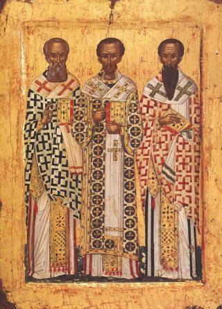 Synaxe des Trois Saints Docteurs Basile le Grand, Grégoire le Theologien et Jean Chrysostome