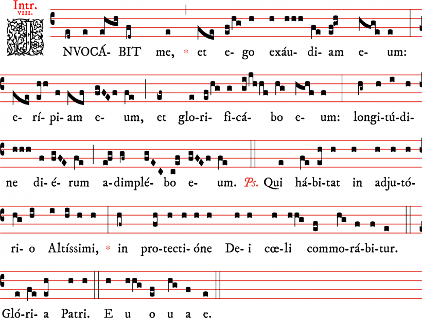 Introit - Invocabit me - ton 8