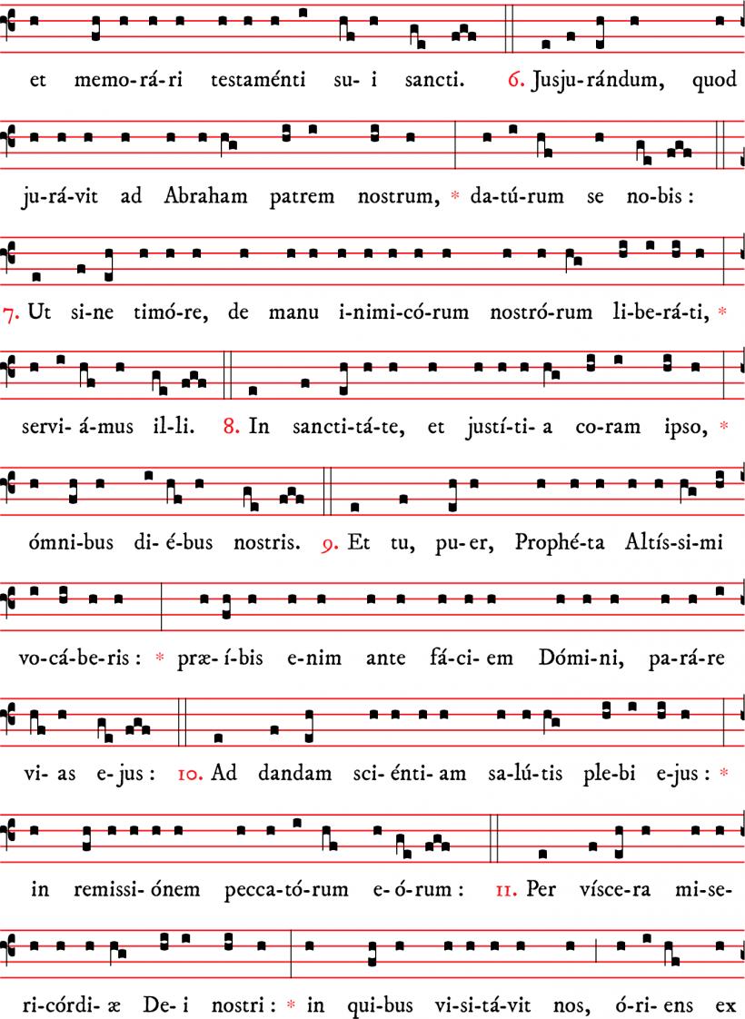 Communion - Tu puer - avec Benedictus - ton 2