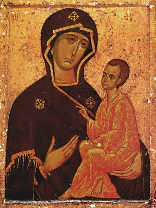 Icone de la Mère de Dieu de Tikhvine