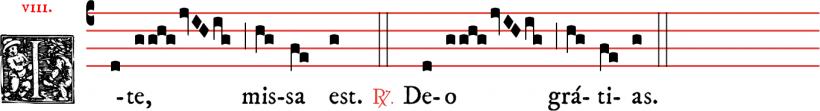 Ite missa est - messe V en plain-chant dominicain