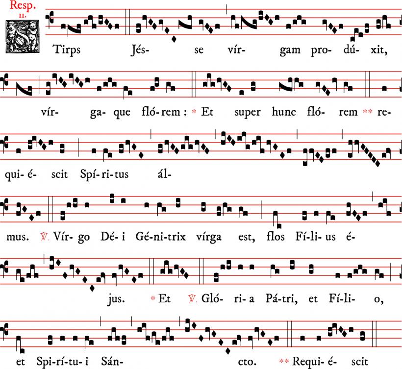 Répons Stirps Jesse - Fulbert de Chartres