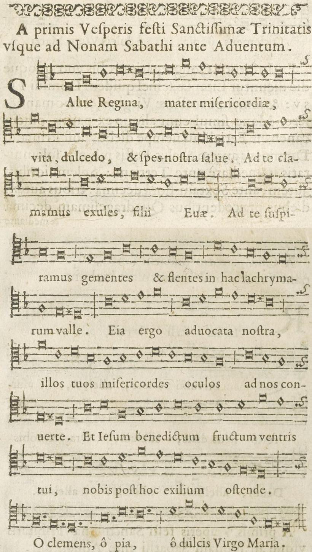 Salve Regina oratorien - 1634