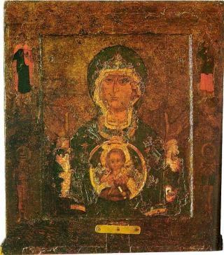 Icône de la Vierge du Signe de Novgorod