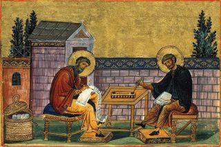 Les saints frères hymnographes Jean Damascène et Côme de Maïouma